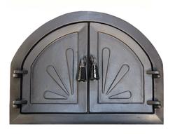 Дверь для камина Барбекю без стекла