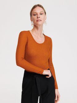 Блуза RESERVED Горчичный