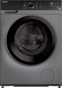 cumpără Mașină de spălat frontală Toshiba TW-BJ90S2UA - silver în Chișinău