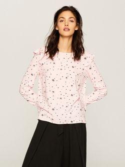 Блуза RESERVED Светло розовый