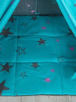 Căsuța de joaca PlayPark WigWam Standart Stars 120x120cm