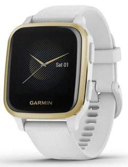 купить Смарт часы Garmin Venu Sq White/Light Gold в Кишинёве