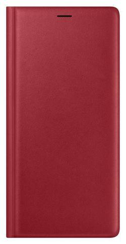 cumpără Husă telefon Samsung EF-WN960 Leather Wallet Cover, Red în Chișinău