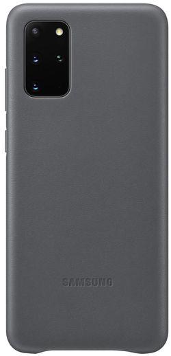 купить Чехол для моб.устройства Samsung EF-VG985 Leather Cover Gray в Кишинёве