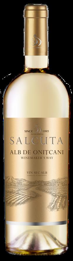 Вино Salcuta WW Alb de Onitcani,  белое сухое, 0.75 Л