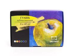 Setul guas Malevich 6 cul. 40 ml