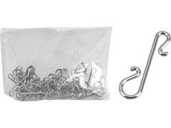 Набор крючков для елочных украшений 4cm, 50шт