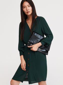 Платье RESERVED Зеленый wn987-67x
