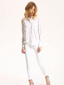 Bluza TOP SECRET Ivory cu imprimeu SKL2355BI