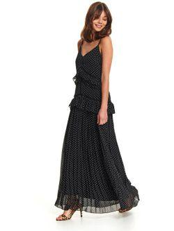 Платье TOP SECRET Чёрный в горошек