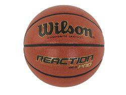 Мяч баскетбольный #6 REACTION PRO 285 WTB10138XB06 Wilson (2158)
