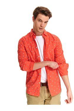 Рубашка TOP SECRET Коралловый skl2860