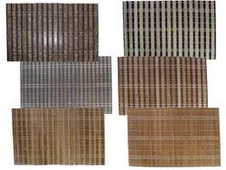 Servetel de servire din bambus 45X30cm, in dungi