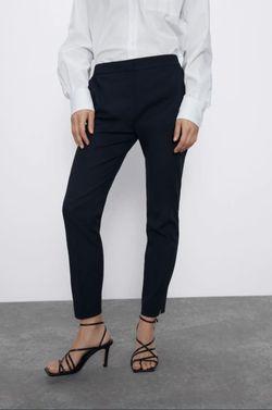 Pantaloni ZARA Albastru inchis 1478/020/401