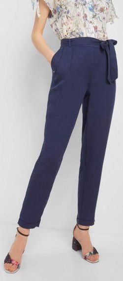 Pantaloni ORSAY Albastru 324233
