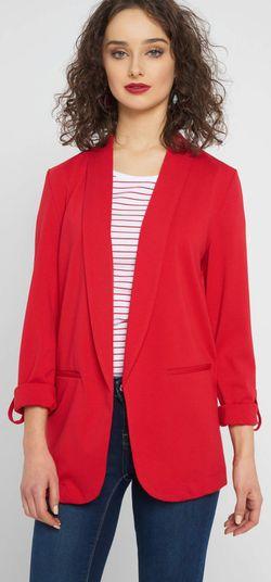 Пиджак ORSAY Красный 483155,