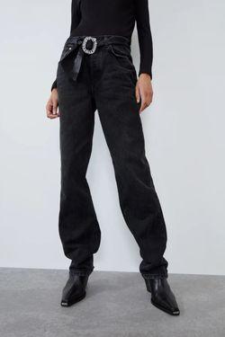 Pantaloni ZARA Negru 6688/202/800