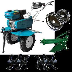 Motocultor DKD 900 Set (Roti metl.+Plug)