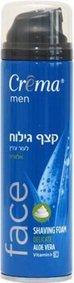 Пена для бритья для чувствительной кожи Crema Aloe Vera 200 мл
