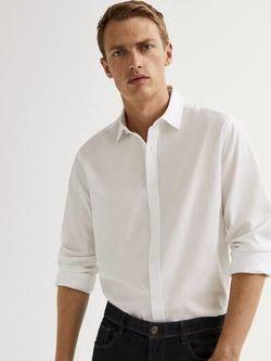 Рубашка Massimo Dutti Белый 0162/162/250