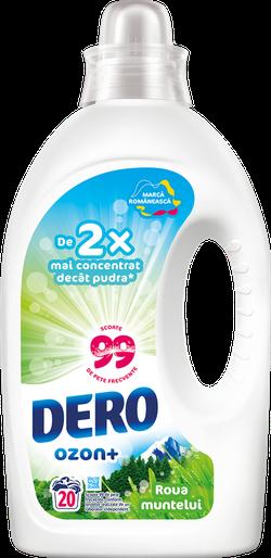 Жидкое моющее средство Dero Озон+ Горная роса, 1 л.