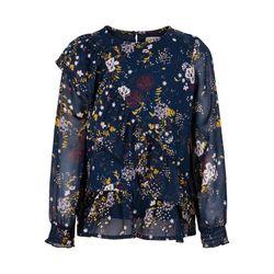 Блуза CREAMIE Синий с принтом 821242 creamie