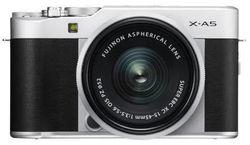 cumpără Aparat foto mirrorless FujiFilm X-A5 Silver/XC15-45mm kit în Chișinău