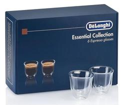 купить Стакан DeLonghi DLSC300 SET 6 Glasses Espresso 60ml в Кишинёве