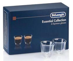 cumpără Pahar DeLonghi DLSC300 SET 6 Glasses Espresso 60ml în Chișinău