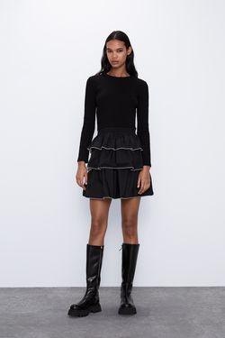 Платье ZARA Чёрный 5039/308/800