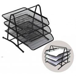 Taviță pentru hârtie orizontală, set din 3, metal