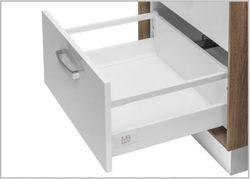 Modern Box Square gri L-450 H-210 deschidere totală cu amortizor