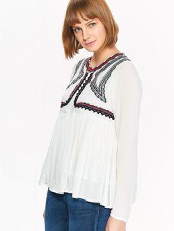 Блуза TOP SECRET Белый tbd0126