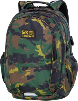 Ghiozdan Coolpack Factor - Millitary Jungle (46x32x17)