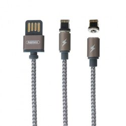 Cablu Remax Lightning Cable Gravity Black