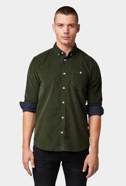 Рубашка Tom Tailor Хаки tom tailor 1013890