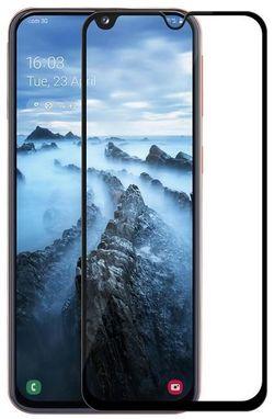 cumpără Folie de protecție Screen Geeks Glass Pro Galaxy A40, Negru în Chișinău