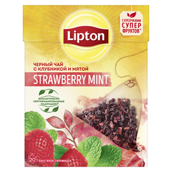 Lipton Nirvana Strawberry Mint, 20 пак.