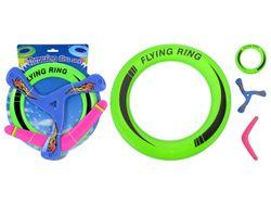 Набор метательных предметов 3шт( кольцо,бумеранг,триангл)