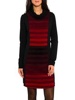 Платье Smash Чёрный/ Красный A1661324