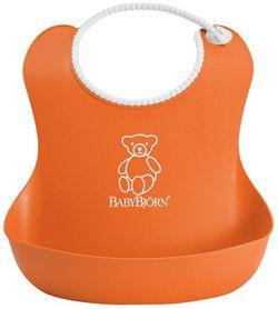 Мягкий нагрудник BabyBjorn Soft Bib Orange