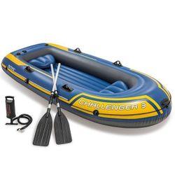 Barcă Gonflabilă cu trei locuri CHALLENGER 3 (295x137x43 cm)