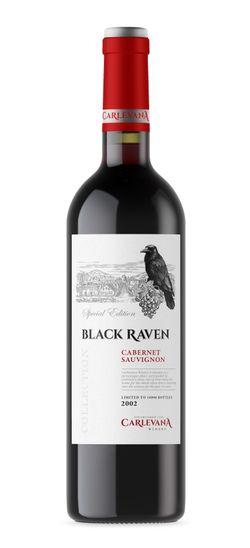"""BLACK RAVEN"" CABERNET SAUVIGNON 2002"