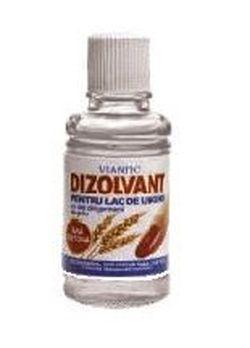 Dizolvant pentru lac de unghii (fară acetonă) cu ulei din germeni de grâu