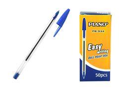 Ручка шариковая CRYSTAL PB-934 soft ink,1mm, синяя