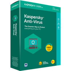 Kaspersky Anti-Virus Card 2 Dt 1 Year Renewal