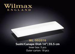 Блюдо WILMAX WL-992016 (для суши и канапе 35,5 см)