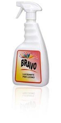 BRAVO - detergent lichid pentru lustruirea lemnului, 750ml