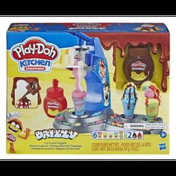 Набор игровой Play-Doh Мороженое с глазурью, код 43886