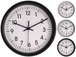 Часы настенные D20, H4cm, пластик, 3 цвета